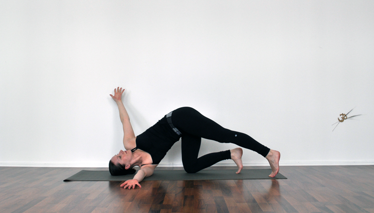 Needle Eye pose with a Twist