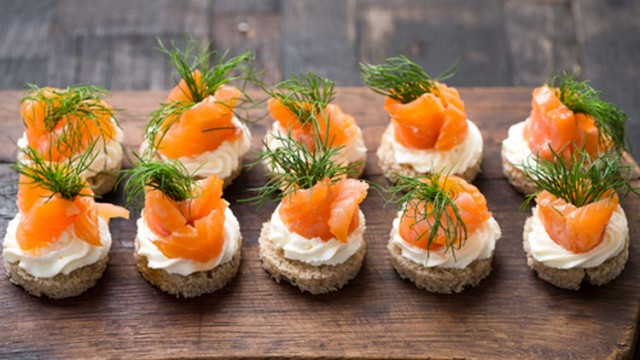 gotta joga yoga app iphone apple salmon canapes