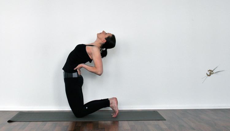 camel pose gotta joga yoga app