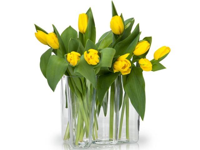 aalto vase tulips