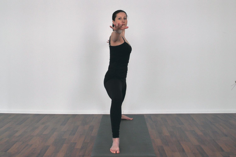 yoga warrior 2 pose gotta joga app