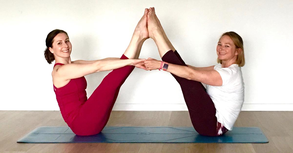 gottajoga review liforme yoga mat boat pose navasana