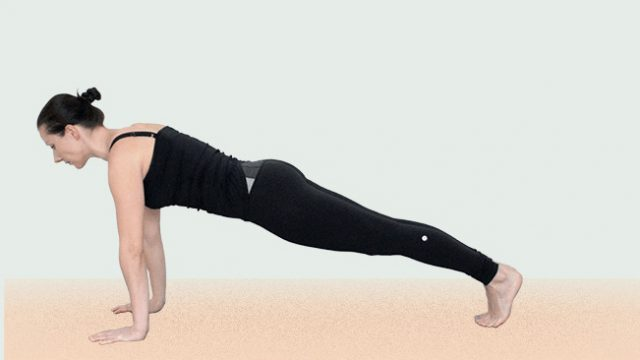plank yoga pose gotta joga yogaapp