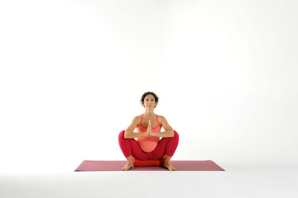 malasana gotta joga prenatal