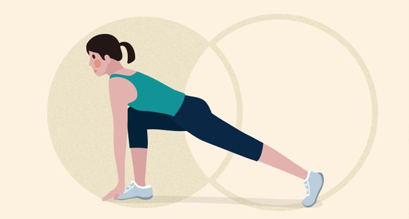 lunge pose gotta joga yoga app
