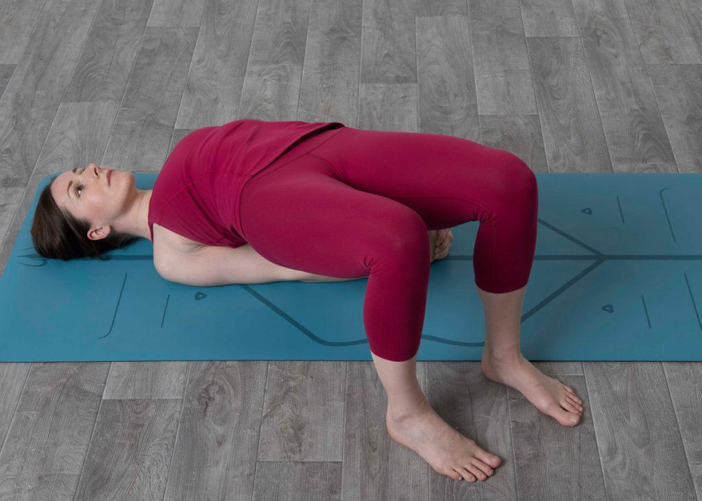 Bridge Pose Variation gotta joga