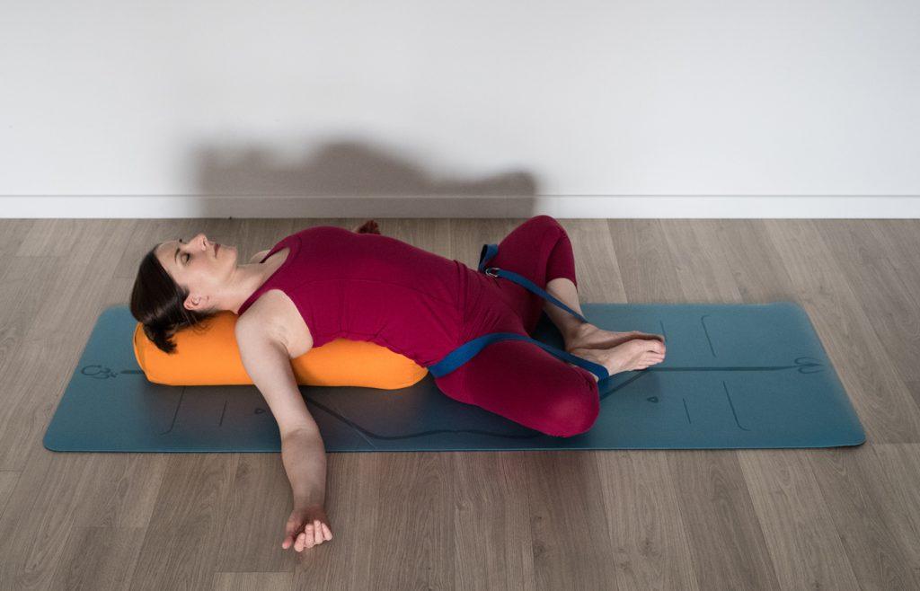 papillon sur le dos ouverture des hanches gotta joga yoga app