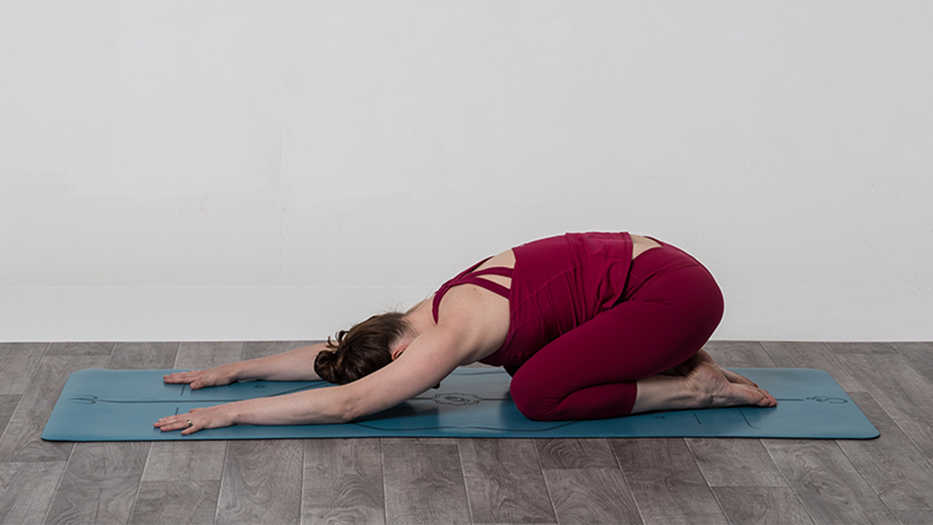 balasana child's pose yoga