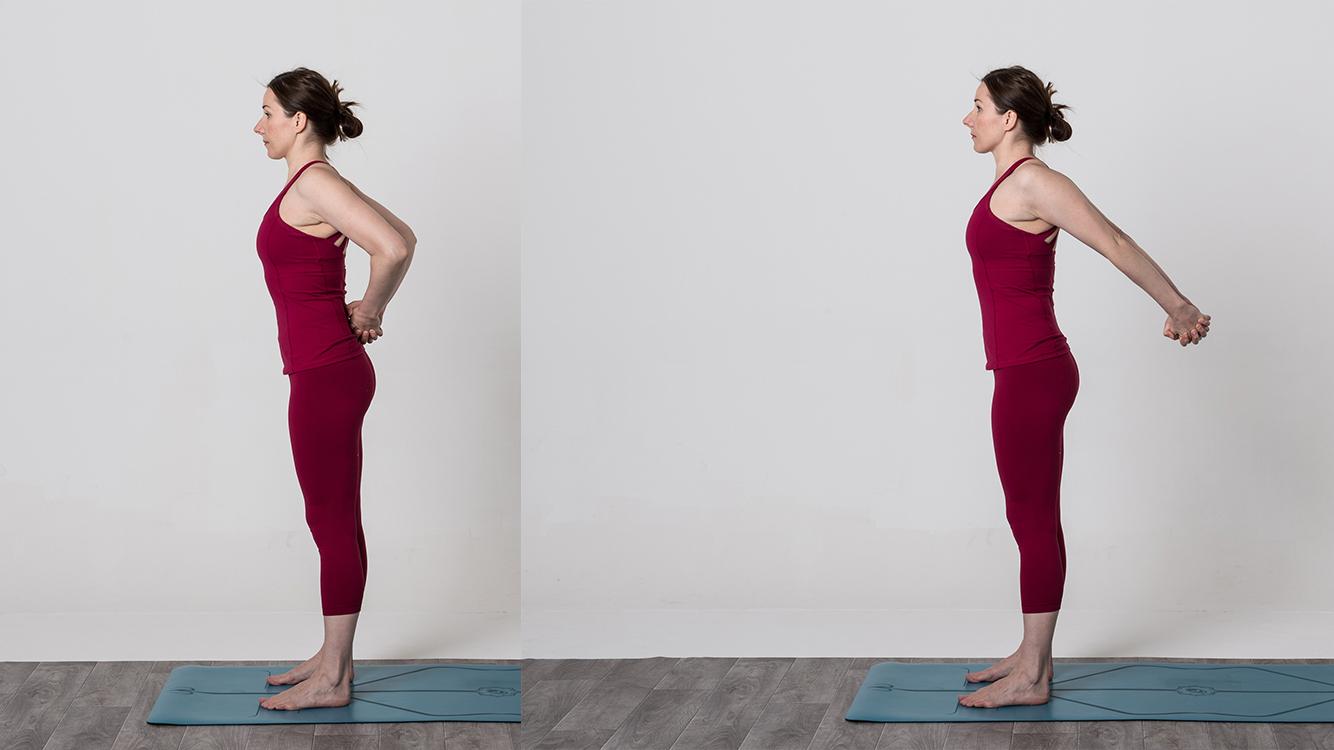 yoga shoulder opener