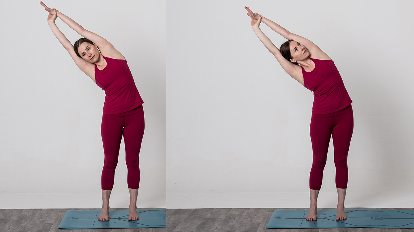 yoga lateral bend