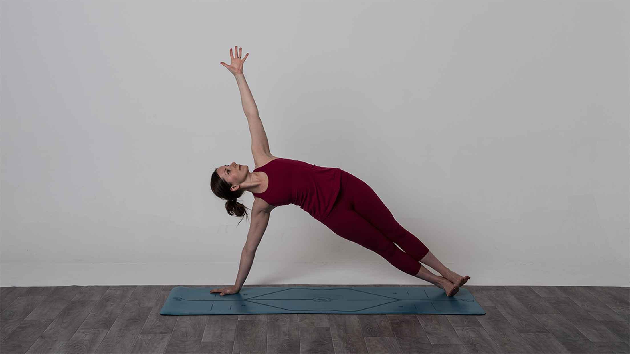 vasisthasana side plank yoga pose